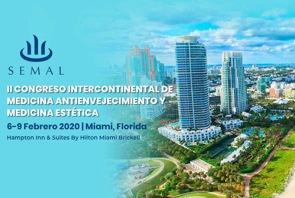 II congreso Intercontinental de Medicina Antienvejecimiento en Miami featured image